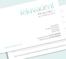 Luxury Appointment Cards -  (Double Sided)